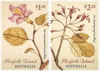 Norfolk Islands - Flowers - Postfrisse serie van 2