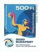 Ungarn - EM i Vandpolo - Postfrisk frimærke
