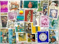 Europa Cept - 800 timbres diff.