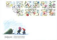 Sverige - Julefrimærker - Førstedagskuvert