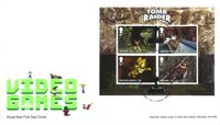 Great Britain - Video Games - First Day Cover Tomb Raider