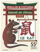 Wallis & Futuna - L'Année du Rat - Timbre neuf