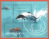 Antarctique Francaise - Orque - Bloc-feuillet neuf