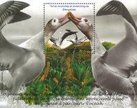 Fransk Antarktis - Albatros - Postfrisk miniark
