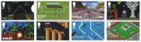 Engeland - Video Games - Postfrisse serie van 8