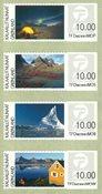 Franking labels 2014 - Mint - Set