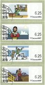 Franking labels 2009 - Date cancellation - Set