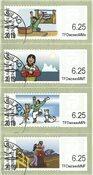Frankeringsmærker 2009 - Dagstemplet - Sæt