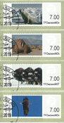 Frankeringsmærker 2011 - Dagstemplet - Sæt
