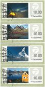 Franking labels 2014 - Date cancellation - Set