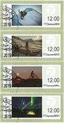 Franking labels 2016 - Date cancellation - Set