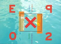 Schweiz - EXPO 2002 - Postfrisk miniark