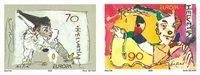 Schweiz - Europa 2002 - Postfrisk sæt 2v