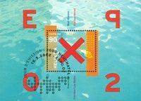 Schweiz - EXPO 2002 - Stemplet miniark