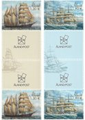 Åland Islands - Sailing Ships Mozart & Viking - Gutterpair mint