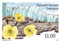 Grønland - Arktiske ørkener Kangerlussuaq - Postfrisk frimærke