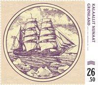 Grønland - Pengesedler - Postfrisk frimærke