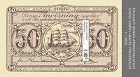 Grønland - Pengesedler - Postfrisk miniark