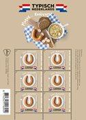 Nederland - Rookworst - Postfris souvenirvelletje