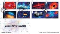 Grande-Bretagne - L'univers - Env.premier jour