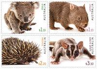 Australien - Fauna 2020 - Postfrisk sæt 4v