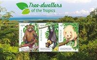 Australië - Animals in the trees - Postfris souvenirvelletje