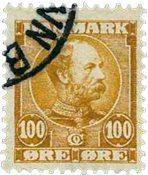 Danmark 1904 - AFA 51 - Stemplet