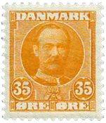 Danmark 1912 - AFA 63 - Postfrisk