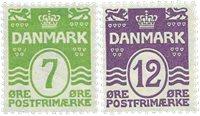 Danemark 1926 - AFA 167-68 - Neuf sans ch.