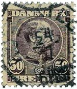 Danmark 1904 - AFA 50 - Stemplet