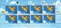 Schweiz - Aero Club - Postfrisk 8-ark