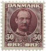 Danmark 1907 - AFA 58 - Ubrugt