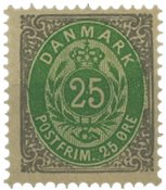 Danmark 1875-79 - AFA 29 - Ubrugt