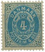 Danmark 1875 - AFA 23y - Postfrisk