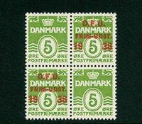 Danmark - AFA 245 postfrisk 4-blok