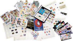 Wonderbox with varied content of stamps