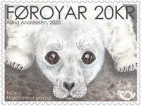 Færøerne - Sælunge Nordenfrimærke - Postfrisk frimærke
