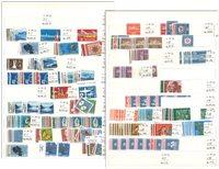 Diverse lande - Komplette postfriske sæt mm.