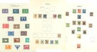Island - Samling 1875-76-1922, stemplet og ubrugt