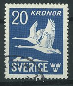 Sverige - AFA 296 stemplet