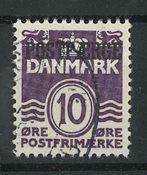Danemark - AFA 22x postfaerge obl.
