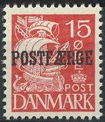Danmark - AFA 16b postfærge postfrisk frimærke