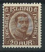 Islande 1921-22 - AFA 1010 - Neuf avec ch.