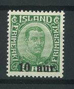 Islande 1921-22 - AFA 106 - Neuf sans ch.