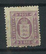 Danemark 1871 - AFA 4 service - Neuf sans ch.