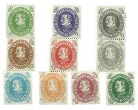 Danmark - AFA 186-195 - Ubrugt