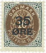 Danmark 1912 - AFA 60 - Postfrisk