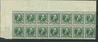 Danmark - AFA 52 blok med 14 postfriske frimærker