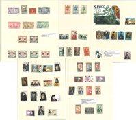 Diverse lande - Album med lommer
