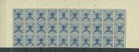 Island - AFA 13b ubrugt i blok med 30 frimærker